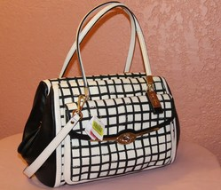 NWT COACH MADISON MADELINE EAST/WEST SATCHEL IN GRAPHIC PRINT FABRIC - $225.00