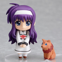 Nendoroid Petite: Magical Girl Lyrical Nanoha Suzuka Tsukimura Action Figure NEW - $21.99