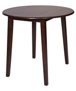"Amaretto Finish Wood 36"" High Round Dining Bist... - $164.99"