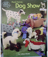 "Plastic Canvas ""Dog Show"" Pattern book #3127 - $5.00"