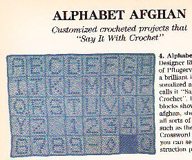 *Crochet Alphabet/Heart/Plaid Afghans 3 HalterTops