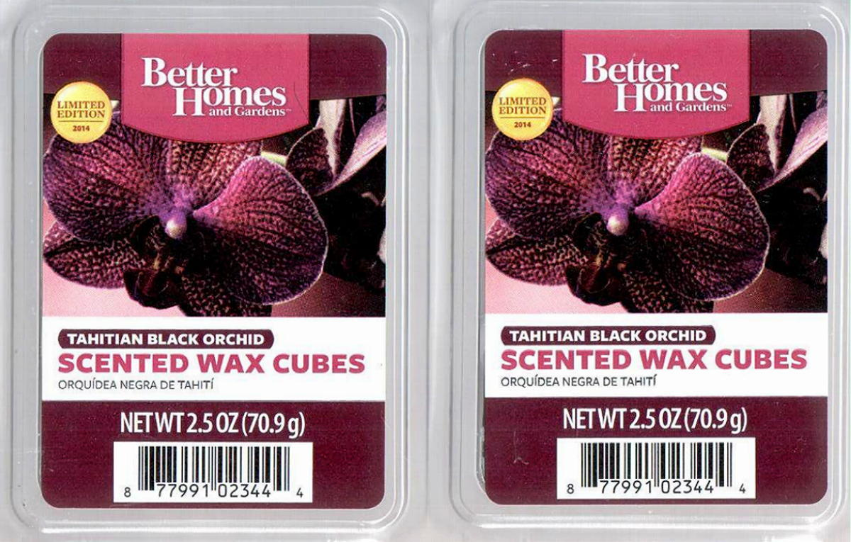 Tahitian black orchid better homes and gardens scented wax - Better homes and gardens scented wax cubes ...