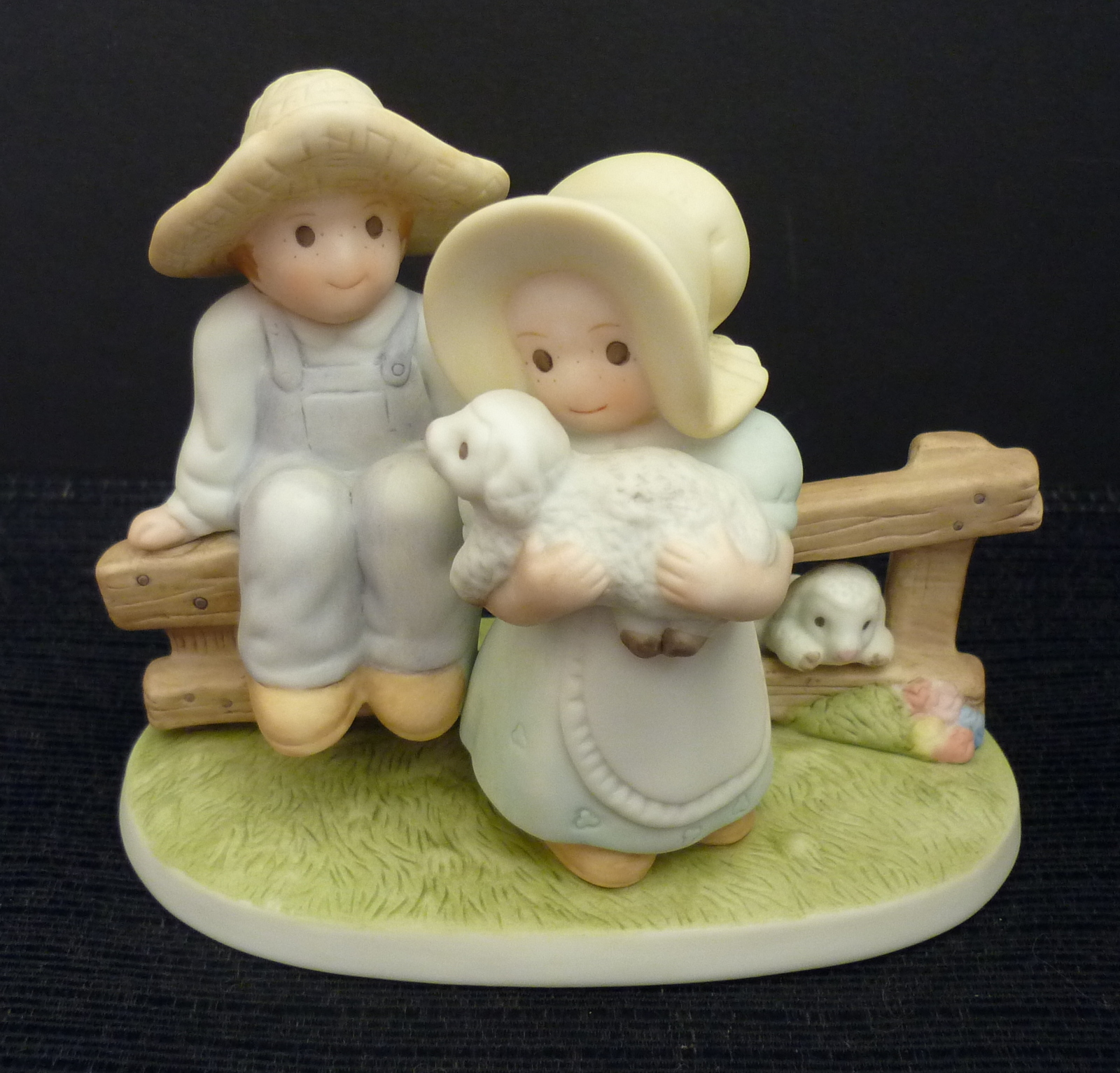 Homco figurine lord is my shepherd home interiors circle Home interiors figurines homco