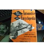 Motor Service's Automotive Encyclopedia 1954 25 year volume - $70.00