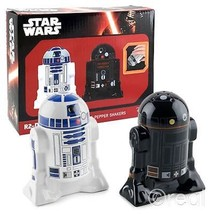 Star Wars Salt and Pepper Shakers R2D2 and R2Q5 R2-D2 and R2-Q5 New with... - $9.49