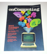 Vintage On Computing magazine Summer 1980 Vol 2 No 1 computers games - $5.00