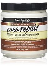 Aunt Jackie's Coconut Crème Recipes Coco Repair, Coconut Crème Deep Conditioner,