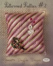 Patterned Pretties 2 Pyn Pillow Kit cross stitch kit Jeanette Douglas Designs - $10.80