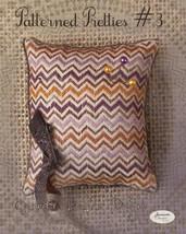 Patterned Pretties 3 Pyn Pillow Kit cross stitch kit Jeanette Douglas Designs - $10.80