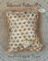 Patterned Pretties 4 Pyn Pillow Kit cross stitch kit Jeanette Douglas Designs - $10.80