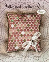 Patterned Pretties 6 Pyn Pillow Kit cross stitch kit Jeanette Douglas Designs - $10.80