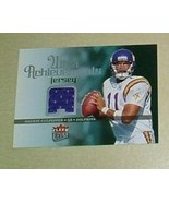 Daunte Culpepper Game Used Jersey card Detroit Lions NFL - $5.99