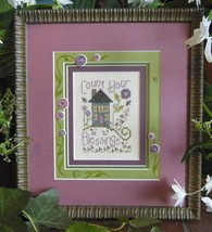 Count Your Blessings Kit cross stitch Shepherd's Bush - $16.00