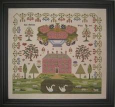 Jane Clarkson sampler cross stitch chart Samplers Revisited - $18.00