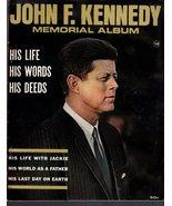 John F. Kennedy  Memorial Album - $4.75
