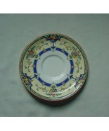 Vintage Royal Worcester Orlando Pattern Plate Saucer Blue Yellow Flowers... - $2.99