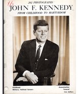 John F. Kennedy  From Childhood To Martyrdom  - $4.95