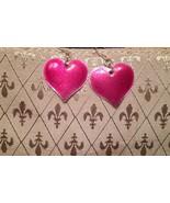 Heart earrings, Star hoops, Purple Hoops, Stuffed Giraffe, FREE pair stu... - $7.00
