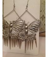 Big Boho, Hippie, Tribal, Gypsy style Butterfly earrings Plus FREE pair ... - $7.00