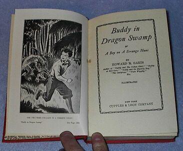 Buddy in Dragon Swamp Howard Garis 1942 Juvenile Series Book