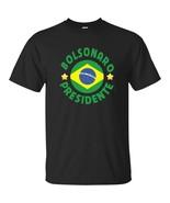 Bolsonaro Presidente Vote 2018 Bolsomito Brazil Flag MensShortSleeveT... - $20.74