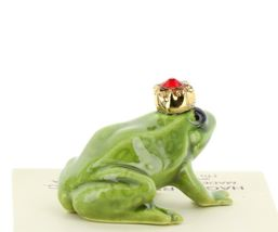 Birthstone Frog Prince July Simulated Ruby Miniatures by Hagen-Renaker image 3