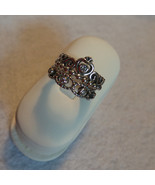 NEW Set of 2 My Princess Tiara Crown & Her Majesty Clear CZs s925 Silver... - $34.99