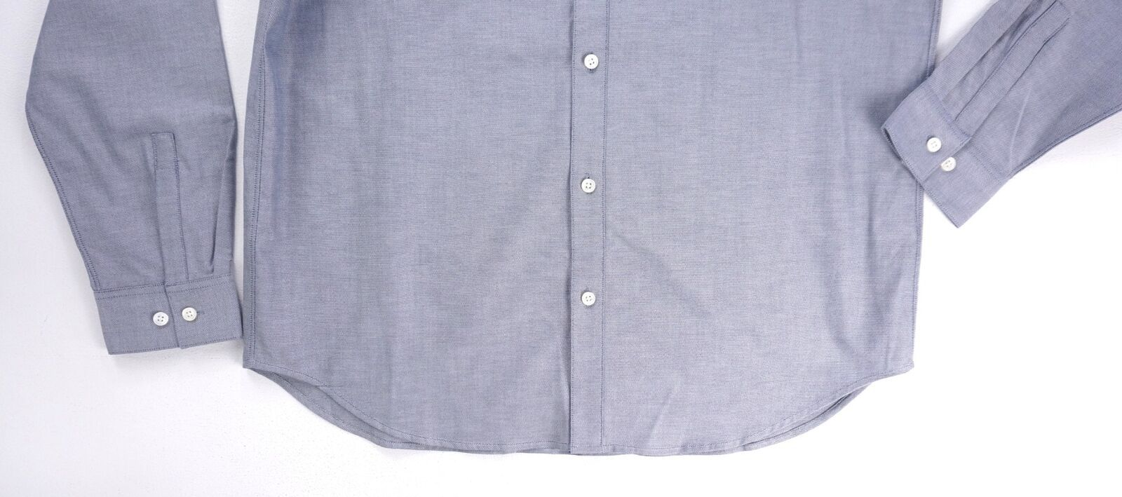 Neuf 225$ Theory Bleu Finch Perpétuelle Oxford Edward Chemise Bouton Taille XL