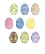 Easter Eggs01-Digital Immediate Download - $3.00