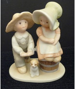 Homco Figurine Ice Cream Taste See Lord Is Good Home Interiors Circle of... - $9.95
