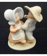 Homco Figurine Turned Mourning Into Dancing Home Interiors Circle of Fri... - $9.95
