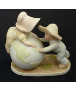 Homco Figurine On Top of the World Home Interiors Circle of Friends Porc... - $12.95