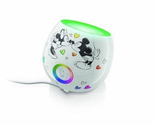 Disney Night Light Living Colors Mini Mickey Mouse and Minnie Mouse Bedroom Kids - $63.69