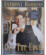 Anthony Robbins~GET THE EDGE Take Charge of Your Destiny!~8 Audiotapes &VHS - $19.55