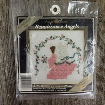 Mill Hill Renaissance Angels Embellished Kit Crystal Bouquet Angel MHRA2 - $26.72
