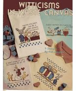 Waste Canvas Pattern  Booklet Leisure Arts - $3.49