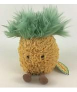"Jelly Cat Amuseables Plush Pineapple Stuffed Toy Bean Bag 6"" Soft Animat... - $53.41"