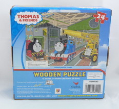 Thomas the Tank Engine & Friends Thomas James Kevin 24 Piece Wooden Puzzle - $16.95
