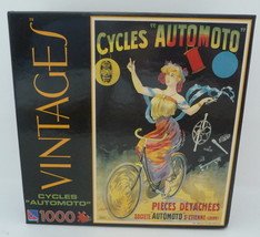 Sure-Lox Vintages Cycles Automoto 1000 Piece Jigsaw Puzzle - $24.95