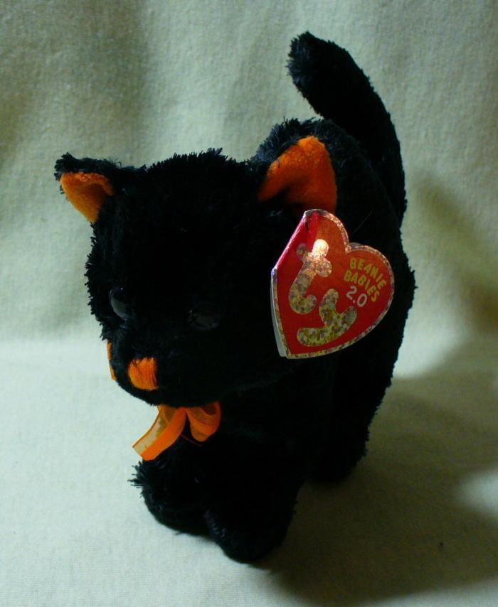 TY Beanie Babies 2.0 Scaredy the Black Cat and 49 similar items fd6cf1fbc273