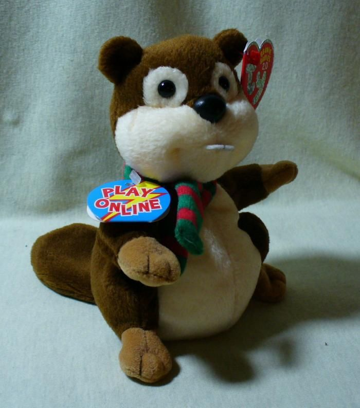TY Beanie Babies 2.0 Yule the Beaver MWMT and 48 similar items 12aae7f24675