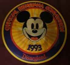 1993 Disneyana Convention Mickey Mouse & Donald Duck Lenticular Disney Button - $10.99