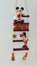 Disney Store 2010 Mickey & Minnie Mouse Ladder Ornament - $49.95