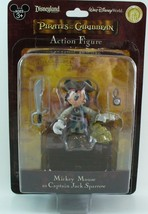 Disney Pirates of the Caribbean Mickey Mouse as Jack Sparrow Action Figure - $29.95