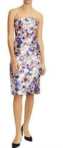 J Crew Collection Strapless Midi Dress in Floral Jacquard Size 4 Style K... - $147.19