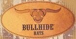 Bullhide Country Heritage Wool Cowboy Hat Diamond Shaped Silver Conchos Black