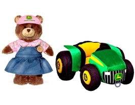 New Build a Bear Workshop John Deere Girl Teddy... - $189.99
