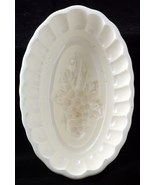 Vintage Ceramic Kitchen Mold With Grapes Pattern - $14.95