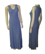 80s April Cornell rayon sheath  summer dress small 20s style - $19.11