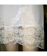 Nan Flowers nylon lace full slip medium B36 - $22.50